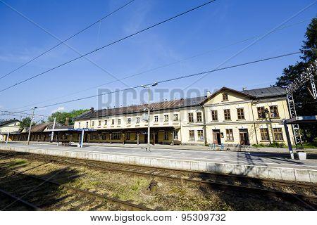 Railway Station In City Of Zakopane