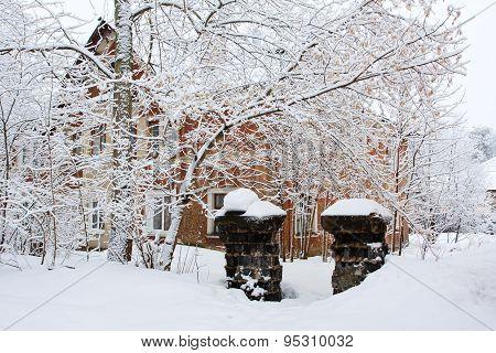 Street After A Snowfall