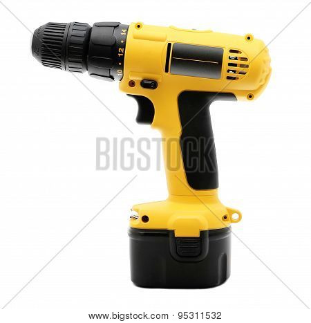 drill with battery