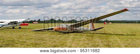 Landed Glider