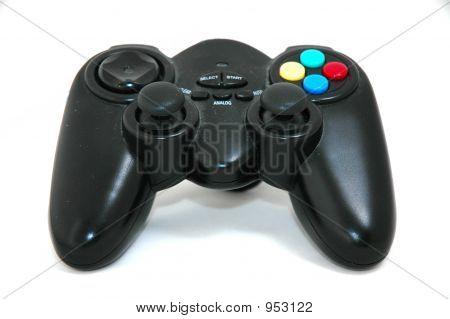 Black Game Pad