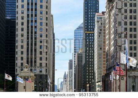 Michigan Avenue in Chicago