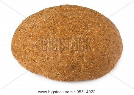 Round Bread With Bran
