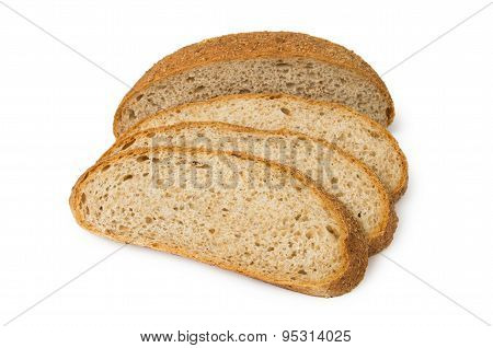 Sliced Bread With Bran