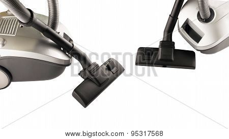Two  Hoovers  For Cleaning