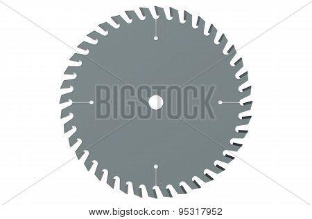 Circular Saw Blade Closeup
