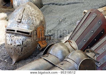 helmet and armor