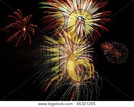 New Years Eve Fireworks 2016