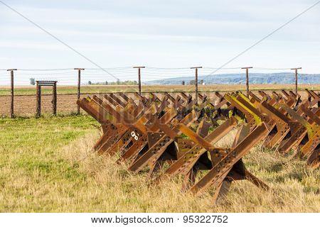 border near Satov, Czech Republic