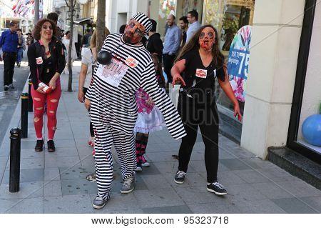 Zombie Walk Istanbul