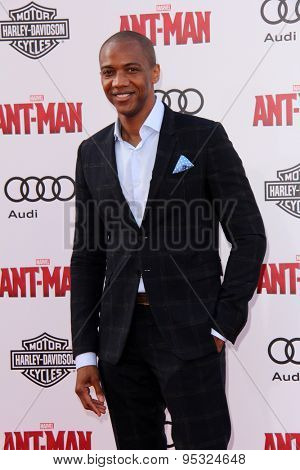 vLOS ANGELES - JUN 29:  J. August Richards at the