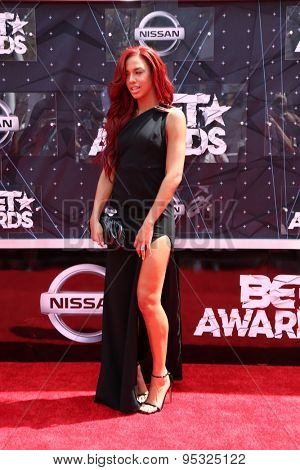 vLOS ANGELES - JUN 28:  Natalie La Rose at the 2015 BET Awards - Arrivals at the Microsoft Theater on June 28, 2015 in Los Angeles, CA