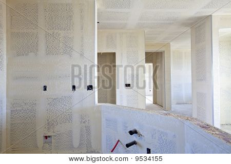 New Construction of a Residential House