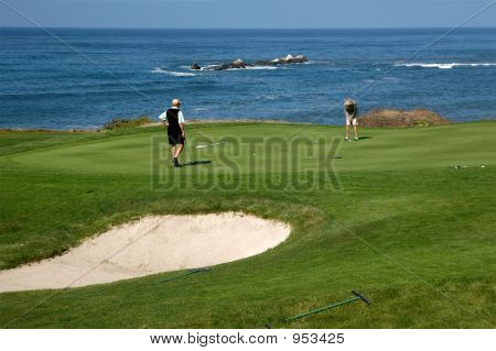Golfing By The Sea