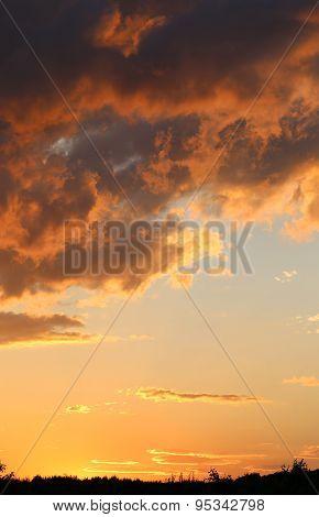 Photo Sunset Sky