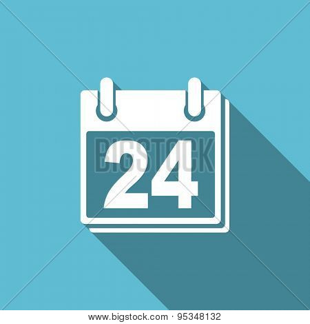 calendar flat icon organizer sign agenda symbol
