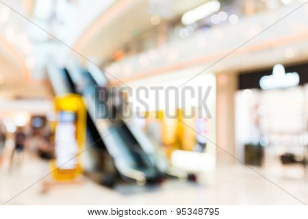 Background of shopping mall