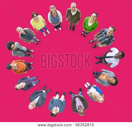 People Multiethnic Group Diversity Community Ethnicity Concept