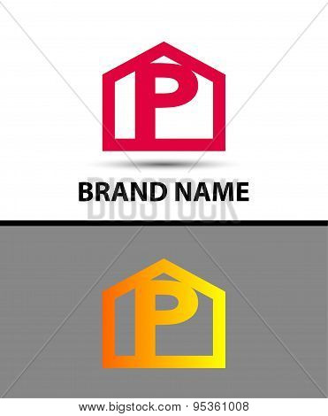 Vector - Letter P logo icon