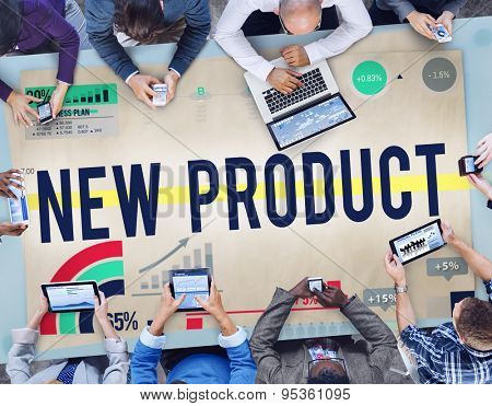 New Product Promotion Marketing Target Concept