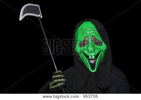 Boy In Mask
