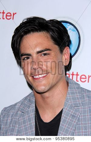 LOS ANGELES - JUN 30:  Tom Sandoval at the SpyChatter Launch Event at the The Argyle on June 30, 2015 in Los Angeles, CA