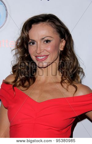 LOS ANGELES - JUN 30:  Karina Smirnoff at the SpyChatter Launch Event at the The Argyle on June 30, 2015 in Los Angeles, CA