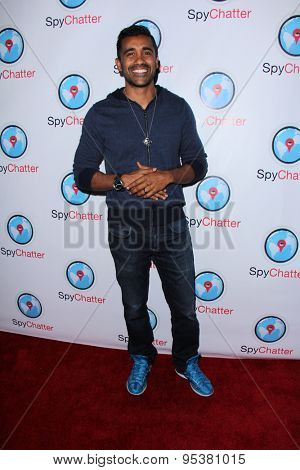 LOS ANGELES - JUN 30:  DeLon at the SpyChatter Launch Event at the The Argyle on June 30, 2015 in Los Angeles, CA