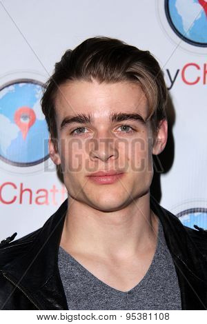 LOS ANGELES - JUN 30:  Austin Falk at the SpyChatter Launch Event at the The Argyle on June 30, 2015 in Los Angeles, CA