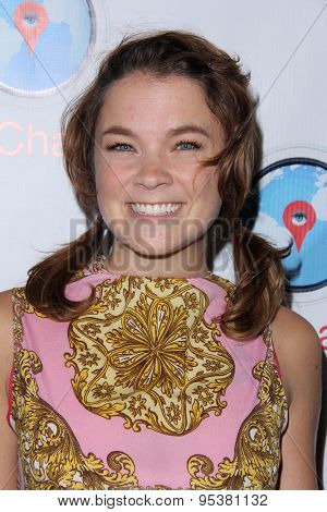 LOS ANGELES - JUN 30:  Lenay Dunn at the SpyChatter Launch Event at the The Argyle on June 30, 2015 in Los Angeles, CA