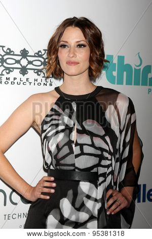 LOS ANGELES - JUN 30:  Chyler Leigh at the 6th Annual Thirst Gala at the Beverly Hilton Hotel on June 30, 2015 in Beverly Hills, CA