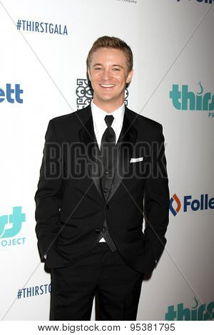 LOS ANGELES - JUN 30:  Michael Welch at the 6th Annual Thirst Gala at the Beverly Hilton Hotel on June 30, 2015 in Beverly Hills, CA