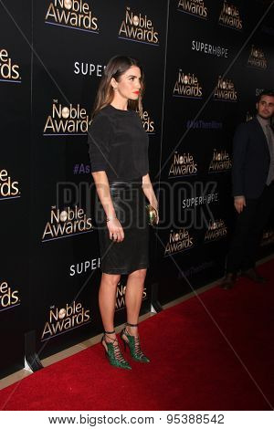 LOS ANGELES - FEB 27:  Nikki Reed at the Noble Awards at the Beverly Hilton Hotel on February 27, 2015 in Beverly Hills, CA