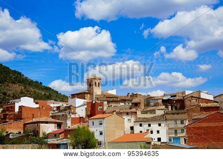 Villar del Humo in Cuenca Spain village skyline Castilla la Mancha