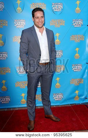 BURBANK - JUNE 25: Michael Kewshaw arrives at the 41st Annual Saturn Awards on Thursday, June 25, 2015 at the Castaway Restaurant in Burbank, CA.