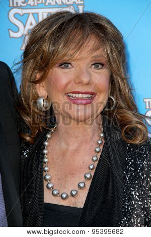 BURBANK - JUNE 25: Dawn Wells arrives at the 41st Annual Saturn Awards on Thursday, June 25, 2015 at the Castaway Restaurant in Burbank, CA.