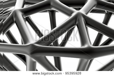 Close-up Low poly Outline Diamond. Jewelry Background. brilliant grid