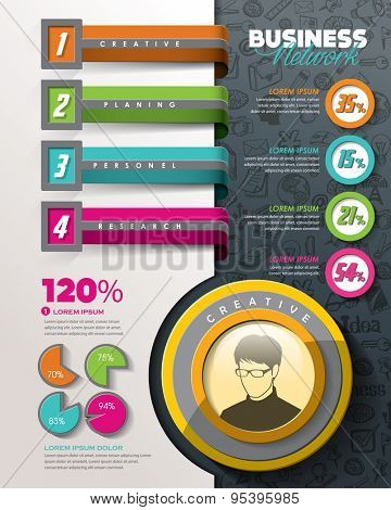 Info-graphic design elements