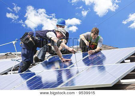 Solar Panel-installation