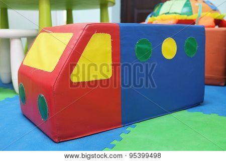 Toy pouffe