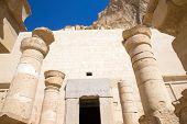 pic of hatshepsut  - The temple of Hatshepsut near Luxor in Egypt - JPG