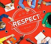 image of honesty  - Respect Honesty Honorable Regard Integrity Concept - JPG