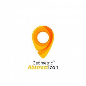 foto of emblem  - Abstract geometric business corporate emblem  - JPG
