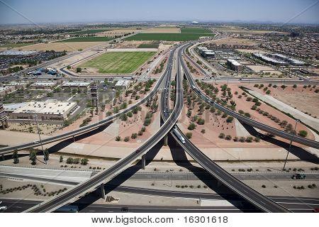 Interstate 10 & Loop 101 Interchange