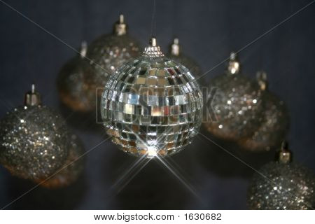 Ornaments  Mirrorball And Glitterballs  Christmas  New Years