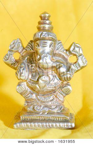 Ganesh Indian Hindu  God