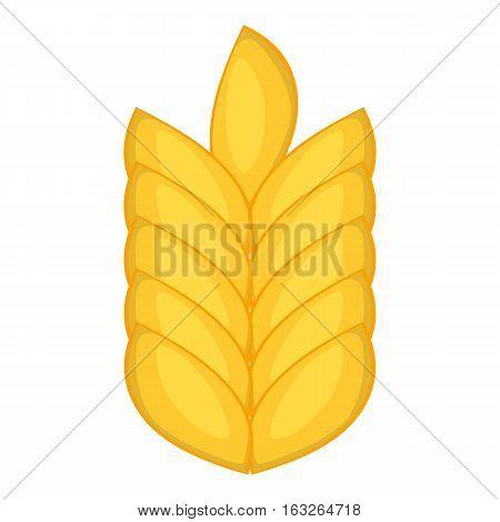 Wheat ear icon. Cartoon illustration of wheat ear vector icon for web design