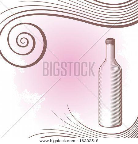 gravure bottle