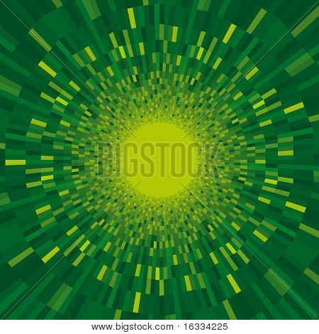 Green vector twister