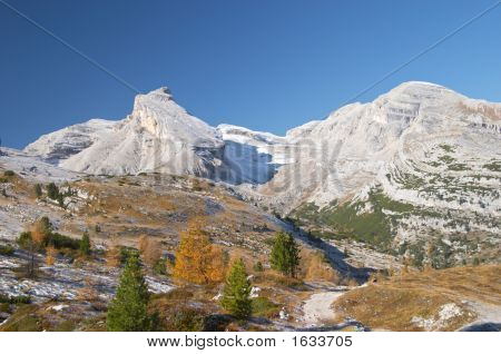 Autumn In Dolomites
